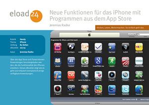 Neue Funktionen für das iPhone mit Programmen aus dem Apple Store