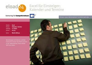Excel für Einsteiger: Kalender und Termine