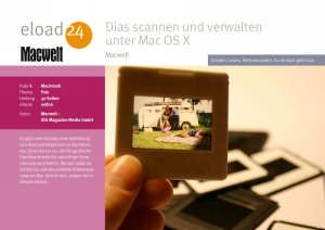 Dias scannen und verwalten unter Mac OS X