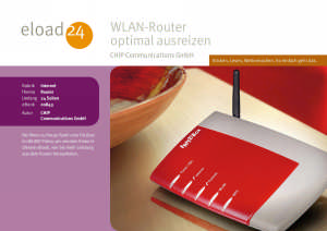 WLAN-Router optimal ausreizen