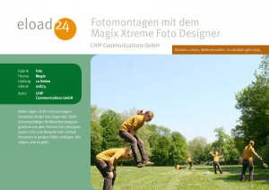 Fotomontagen mit dem Magix Xtreme Foto Designer