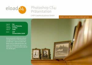Photoshop CS4: Präsentation
