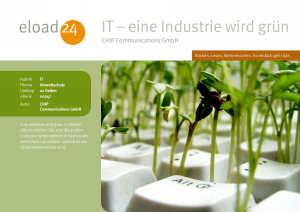 IT - eine Industrie wird grün