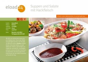 Suppen und Salate mit Hackfleisch