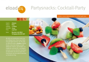 Partysnacks: Cocktail-Party