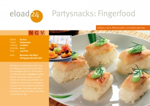 Partysnacks: Fingerfood