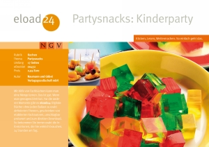 Partysnacks: Kinderparty