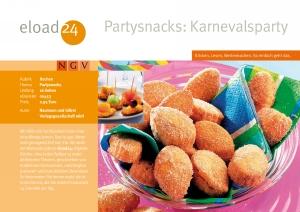 Partysnacks: Karnevalsparty