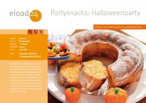 Partysnacks: Halloweenparty