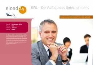 BWL  - der Aufbau des Unternehmens