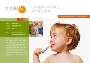 Babygesundheit 3: Körperpflege