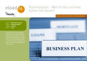 Businessplan -was ist das und was haben Sie davon?