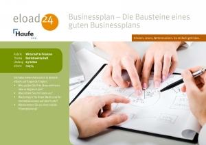Businessplan - die Bausteine eines guten Businessplans