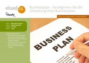 Businessplan - so beginnen Sie die Umsetzung Ihres Businessplan