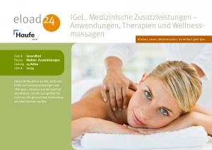 Anwendungen, Therapien und Wellnessmassagen
