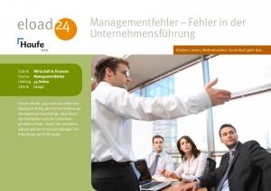Managementfehler - Fehler in der Unternehmensführung