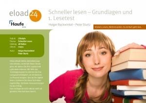 Schneller Lesen - Grundlagen und 1. Lesetest