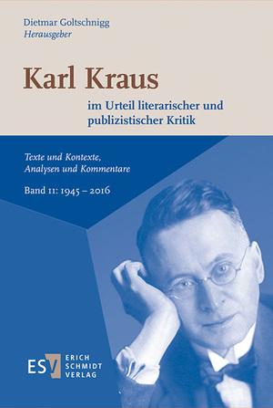 Karl Kraus im Urteil literarischer und publizistischer Kritik