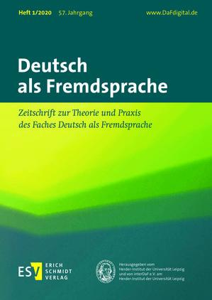 Deutsch als Fremdsprache (01/2020)