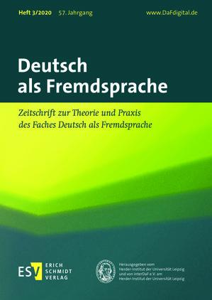 Deutsch als Fremdsprache (03/2020)
