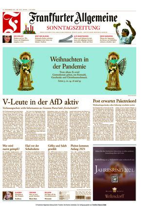 Frankfurter Allgemeine Sonntagszeitung (29.11.2020)