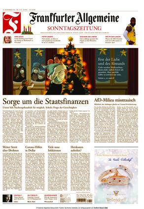 Frankfurter Allgemeine Sonntagszeitung (20.12.2020)
