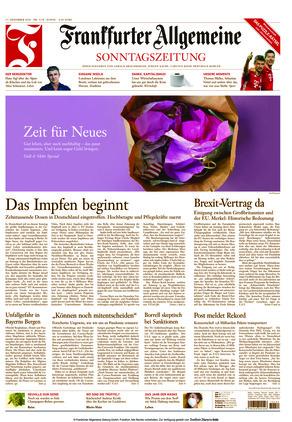 Frankfurter Allgemeine Sonntagszeitung (27.12.2020)