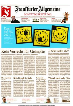 Frankfurter Allgemeine Sonntagszeitung (03.01.2021)