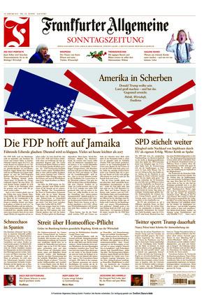 Frankfurter Allgemeine Sonntagszeitung (10.01.2021)