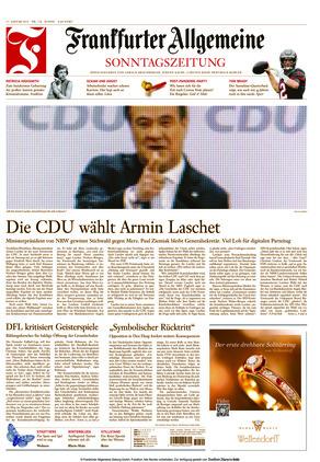 Frankfurter Allgemeine Sonntagszeitung (17.01.2021)