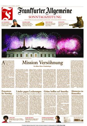 Frankfurter Allgemeine Sonntagszeitung (24.01.2021)