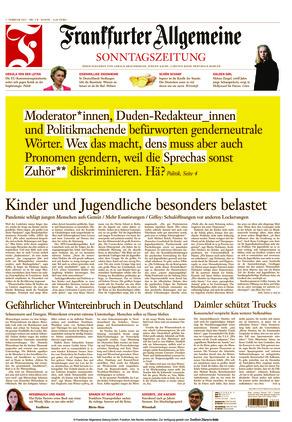 Frankfurter Allgemeine Sonntagszeitung (07.02.2021)