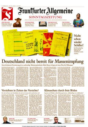 Frankfurter Allgemeine Sonntagszeitung (21.02.2021)