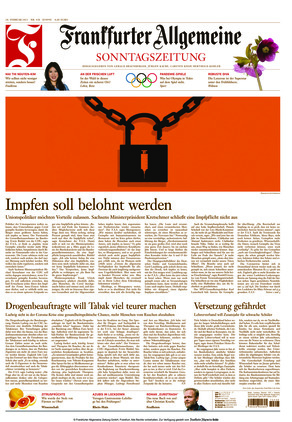 Frankfurter Allgemeine Sonntagszeitung (28.02.2021)