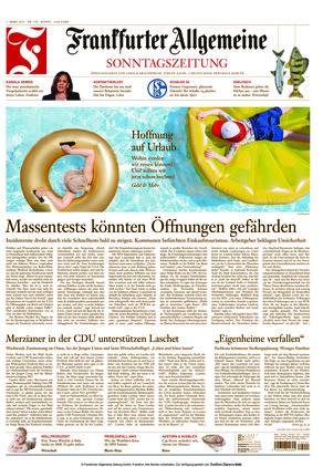 Frankfurter Allgemeine Sonntagszeitung (07.03.2021)