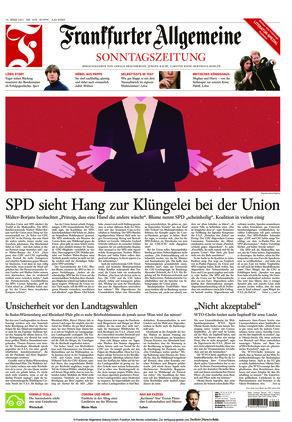 Frankfurter Allgemeine Sonntagszeitung (14.03.2021)