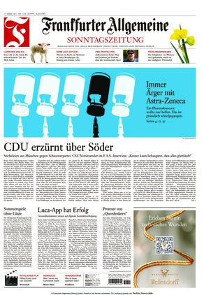 Frankfurter Allgemeine Sonntagszeitung (21.03.2021)