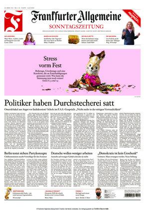 Frankfurter Allgemeine Sonntagszeitung (28.03.2021)