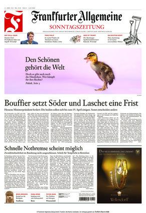 Frankfurter Allgemeine Sonntagszeitung (11.04.2021)