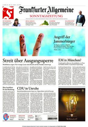Frankfurter Allgemeine Sonntagszeitung (18.04.2021)