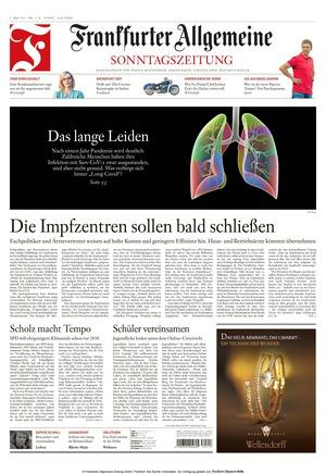 Frankfurter Allgemeine Sonntagszeitung (02.05.2021)
