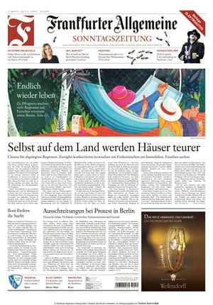 Frankfurter Allgemeine Sonntagszeitung (16.05.2021)