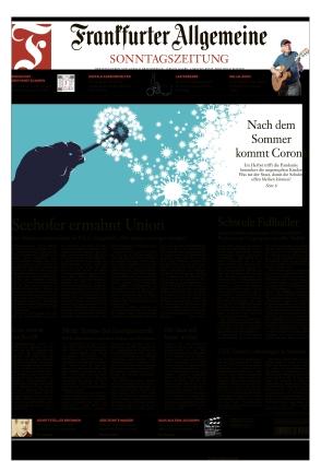 Frankfurter Allgemeine Sonntagszeitung (27.06.2021)