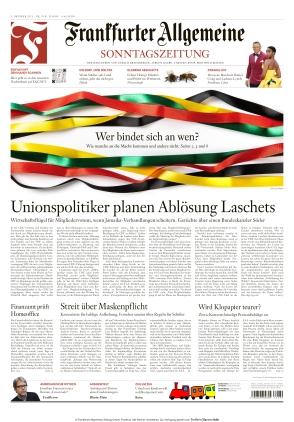Frankfurter Allgemeine Sonntagszeitung (03.10.2021)