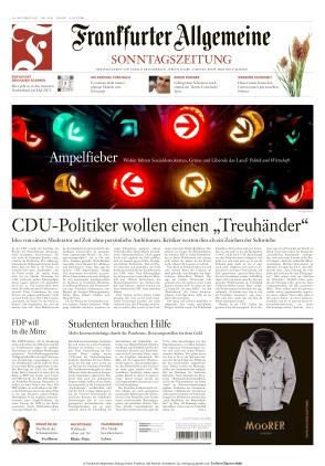 Frankfurter Allgemeine Sonntagszeitung (10.10.2021)