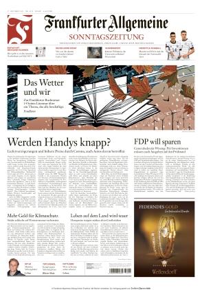 Frankfurter Allgemeine Sonntagszeitung (17.10.2021)