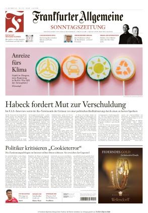Frankfurter Allgemeine Sonntagszeitung (24.10.2021)