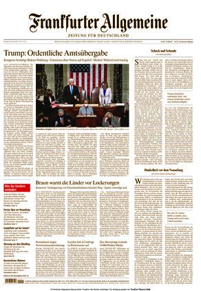 Frankfurter Allgemeine Zeitung (08.01.2021)
