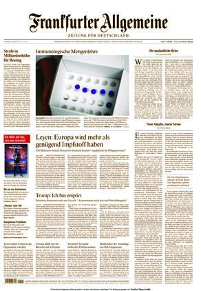 Frankfurter Allgemeine Zeitung (09.01.2021)
