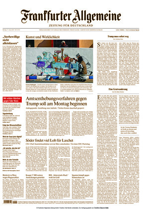 Frankfurter Allgemeine Zeitung (11.01.2021)